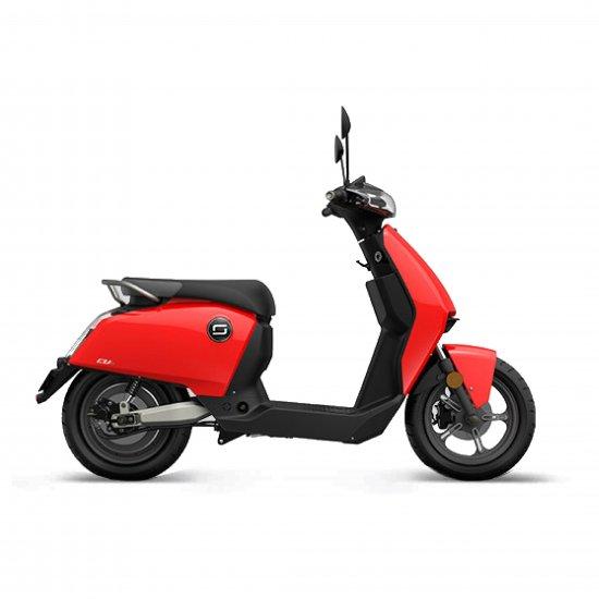 Moto eléctrica Super Soco cu